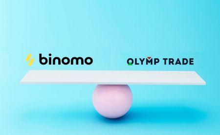 比较 Binomo 和 Olymp Trade