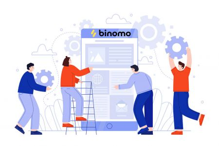 如何创建帐户并注册 Binomo