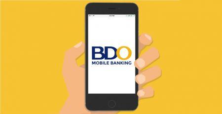 通过菲律宾银行转账和电子钱包(BDO、Paymaya、Coins.ph、GrabPay、GCash)在 Binomo 中存入资金